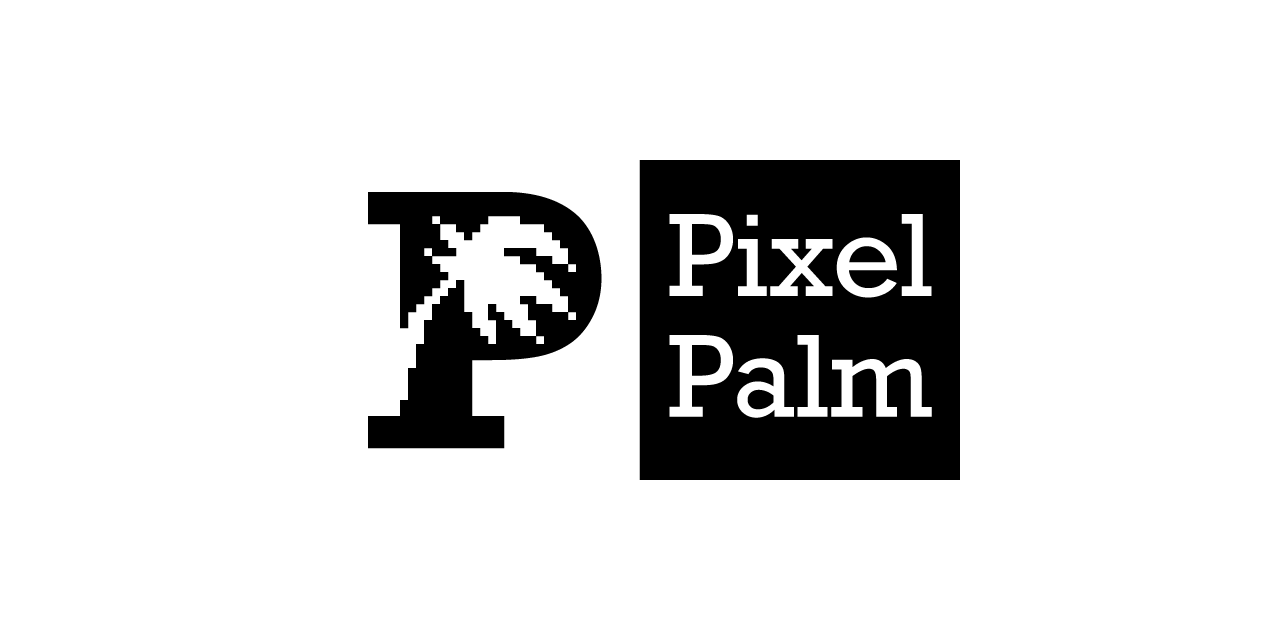 Palm Tree Print Pixel Palm | DAY Creat...